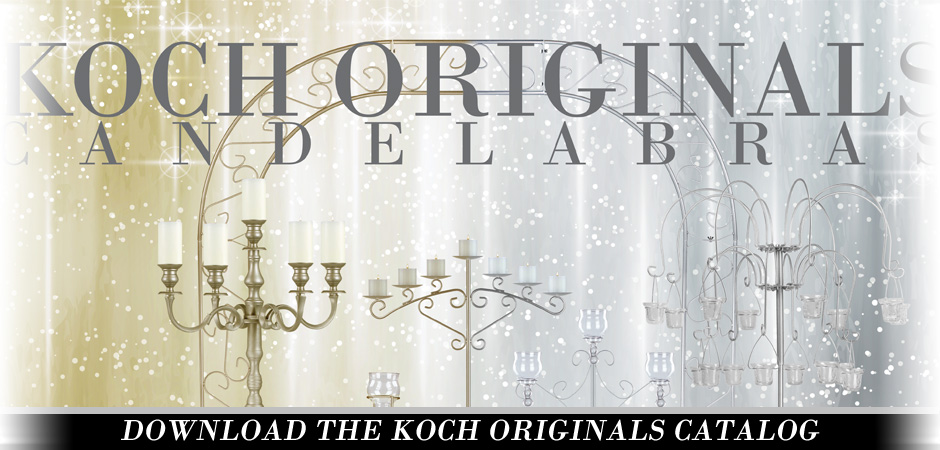 Koch Originals Candelabra Catalog