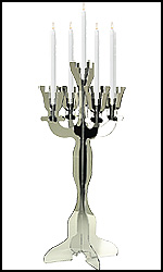 Mirror Illuminate Candelabras