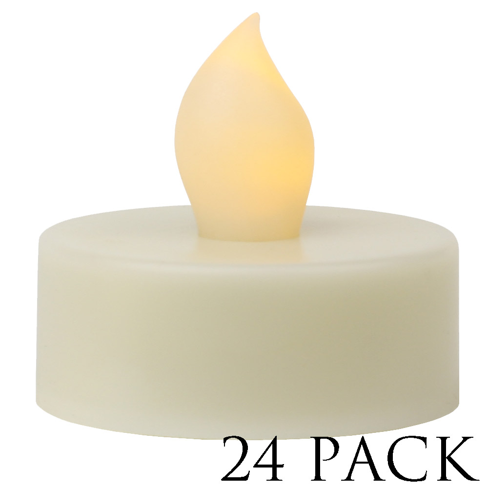 LED Votive Candle - Non-Rechargable - Battery Included - 24 pieces