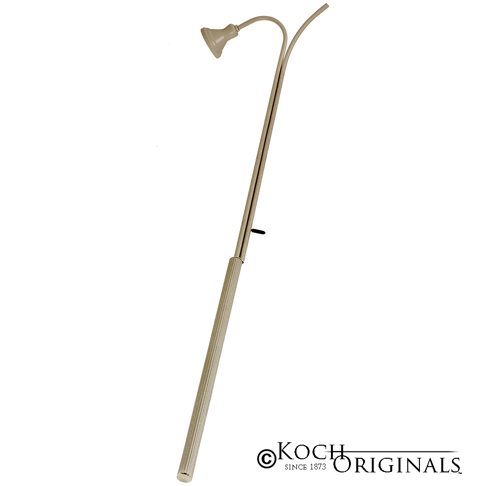 Tradition Candle Lighter w/ Standard Snuffer - 40'' Long - Gold Leaf