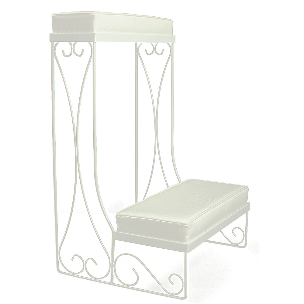 Single Kneeling Bench - Convertible - White