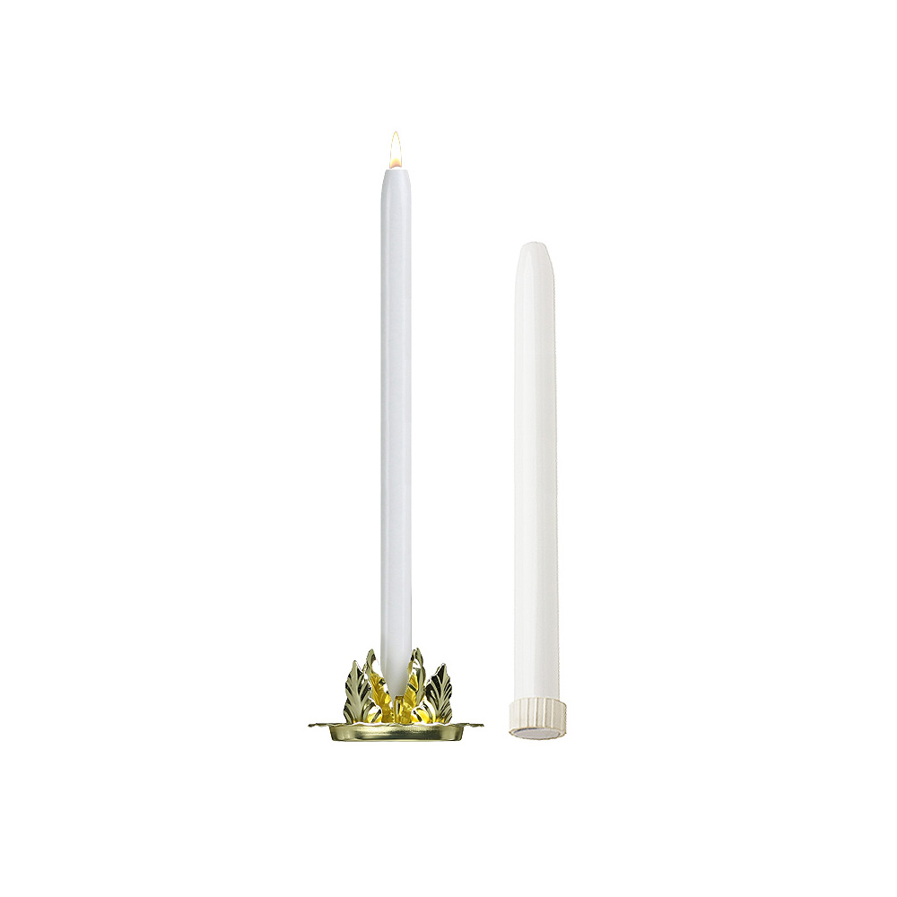12'' Mechanical Candle - Each -  White