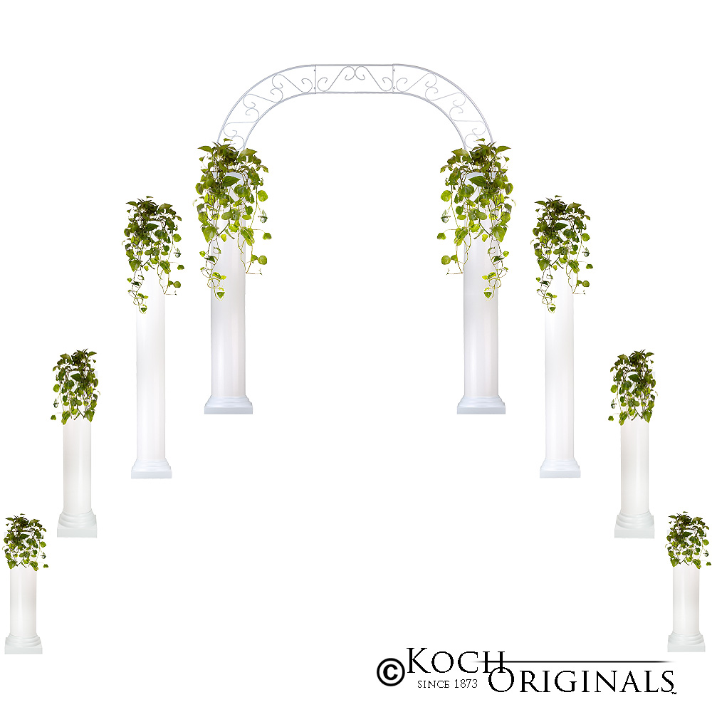 Wedding Altar Columns: Wedding Column Packages : Candelabras By Koch Originals