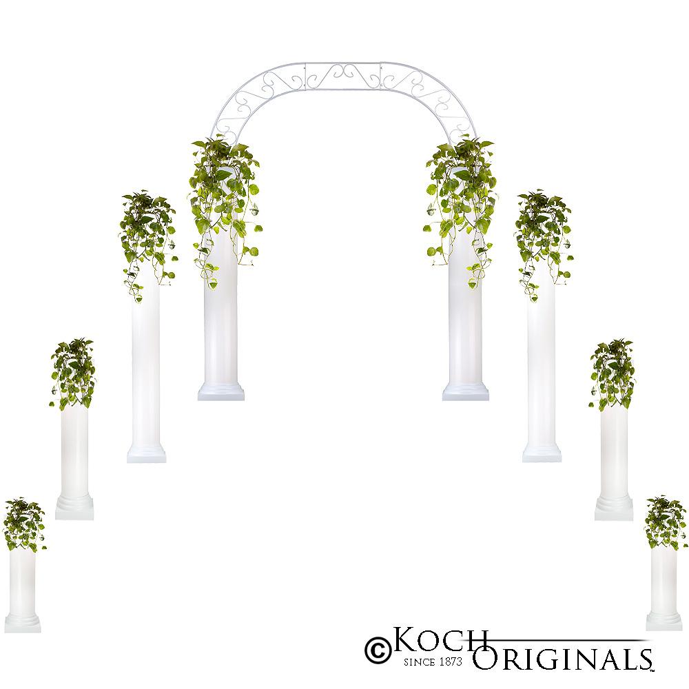 Wedding Column Packages Candelabras By Koch Originals