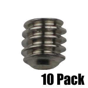 Set Screw for Collar - Stainless Steel - 10 Pack