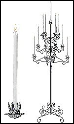 Traditional Tree Candelabras
