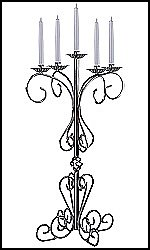 Old World Candelabras