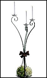 Swan Style Candelabras