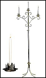 Traditional Unity Candelabras