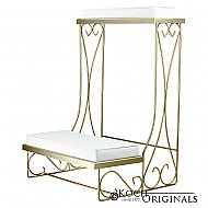 Single Kneeling Bench - Convertible - Gold Leaf