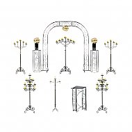 Starter Wedding Package - Pillar Candelabras