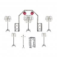 Starter Wedding Package - Willow Candelabras