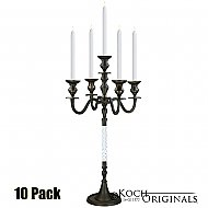 Elegance Tabletop Candelabra - 30'' - 5 light - 10 Pack - Onyx Bronze