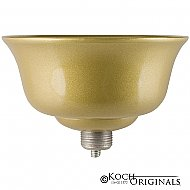 Prestige Series Flower Bowl - Gold Leaf