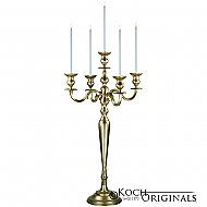 Hierarchy Candelabra - 40'' - 5 light - Gold Leaf