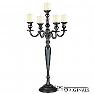 Hierarchy Candelabra - 40'' - 5 light - Onyx Bronze