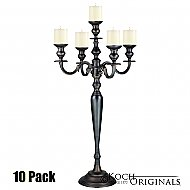 Hierarchy Candelabra - 40'' - 5 light - 10 Pack - Onyx Bronze