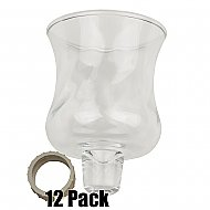 Glass Peg Votives - 12 Pack