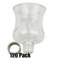 Glass Peg Votives - 120 Pack