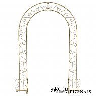 Wedding Arch - 92'' - Gold Leaf
