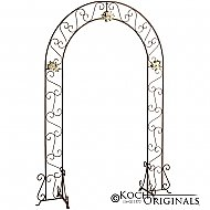 Wedding Arch - 92'' - Onyx Bronze