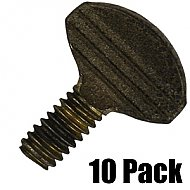 Thumb Screws - 1/2'' L, 1/4'' Thread - 10 Pack