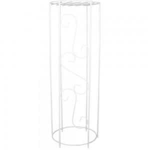 Metal Decorative Column - 38'' Height - White