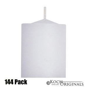 Disposable Votives - 10 hour burn - 144 Pack