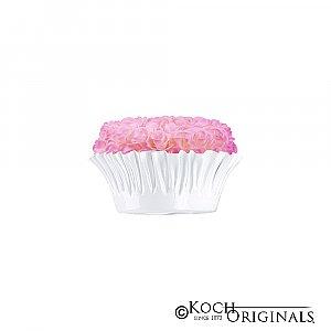 Flower Bowl - 8'' - White