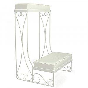 Single Kneeling Bench - Convertible - White