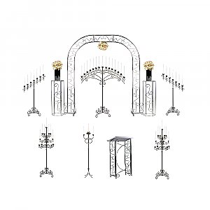 Starter Wedding Package - Traditional Candelabras