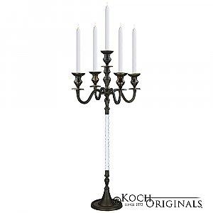 Elegance Candelabra - 40'' - 5 light - Onyx Bronze