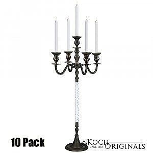 Elegance Candelabra - 40'' - 5 light - 10 Pack - Onyx Bronze