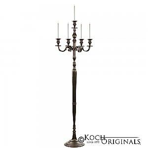 Hierarchy Floor Candelabra - 70'' - 5 light - Onyx Bronze