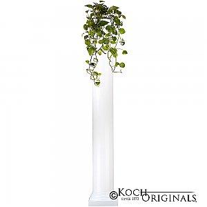 Roman Wedding Column - 6' - White
