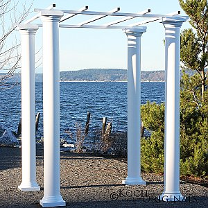 Roman Wedding Gazebo w/ Four 8' Columns