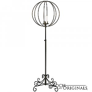 Topiary Ball Candelabra - Large - Onyx Bronze