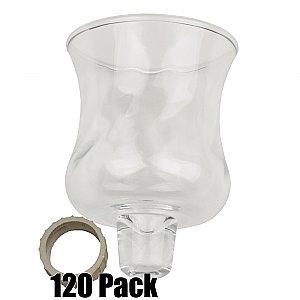 Glass Peg Votives - 120 Pack