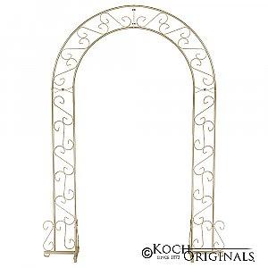 Wedding Arch - 92'' - Gold Leaf