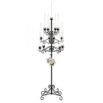 13-Light Tree Floor Candelabra - Onyx Bronze