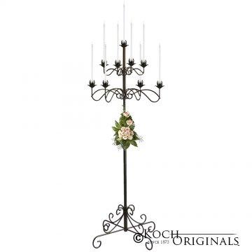 9-Light Tree Floor Candelabra - Onyx Bronze