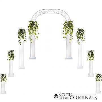 Starter Wedding Package - Roman Columns & Wedding Arch