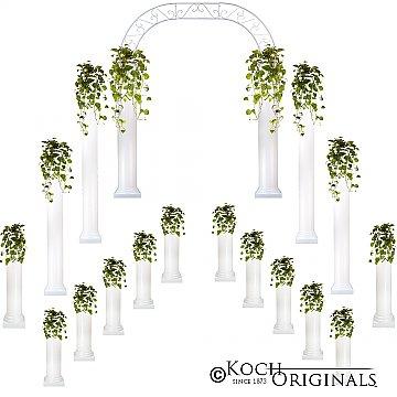 Complete Wedding Package - Roman Columns & Wedding Arch