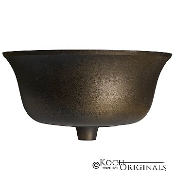 Prestige Series Flower Bowl - Onyx Bronze