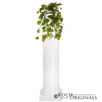 Roman Wedding Column - 4' - White