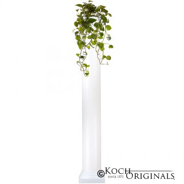 Roman Wedding Column - 6' - White