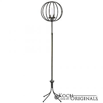 Topiary Ball Candelabra - Small - Onyx Bronze