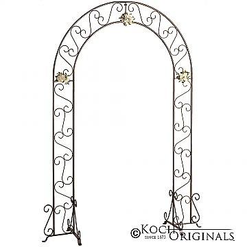 Wedding Arch - 92'' - Onyx Bronze